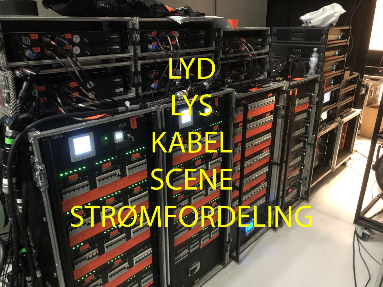 Lyd, Lys, Scene, Kabel